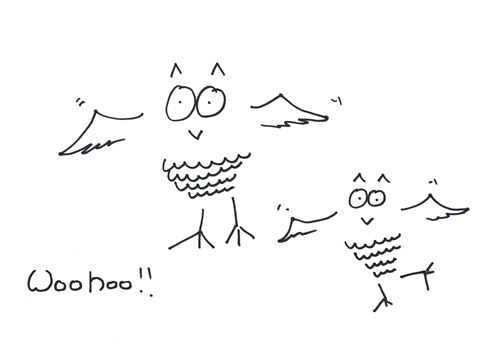 Angel's Doodle For National Doodle দিন 2012