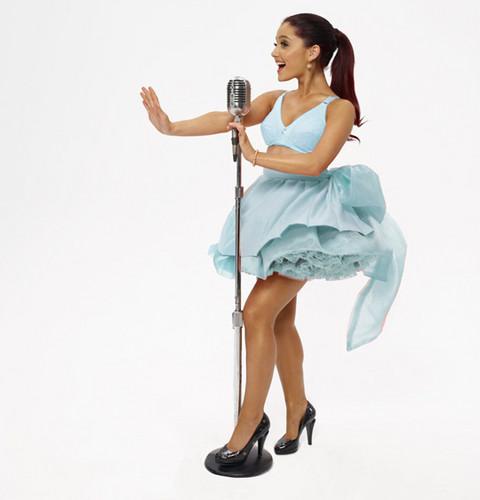 "Ariana Grande ""Put Your Hearts Up"" Single Photoshoot"