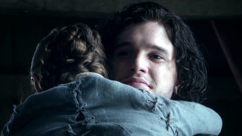 Arya and Jon