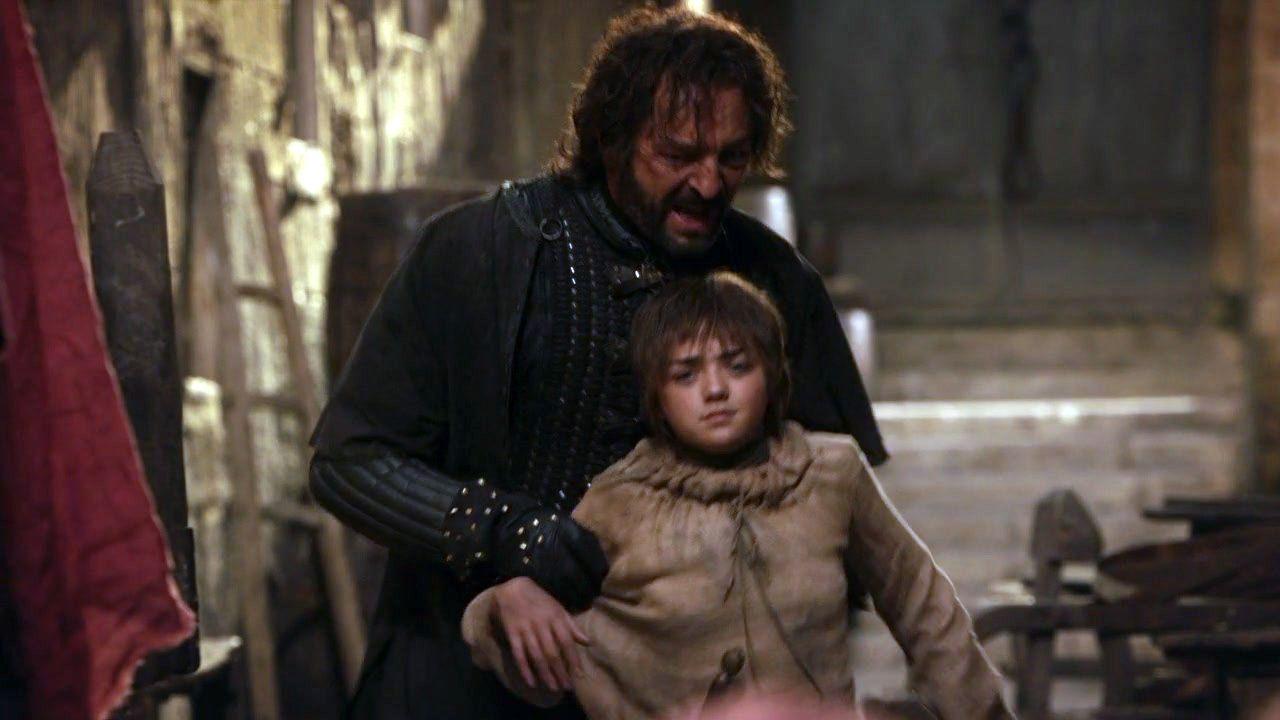 Arya and Yoren