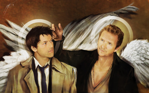 Balthazar wallpaper possibly containing a street titled Balthazar and Castiel