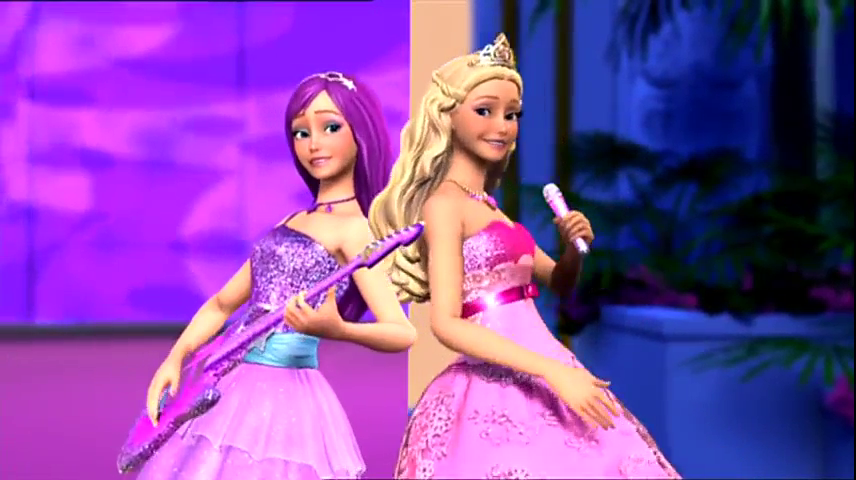 Barbie Princess Barbie  The Princess And The Popstar