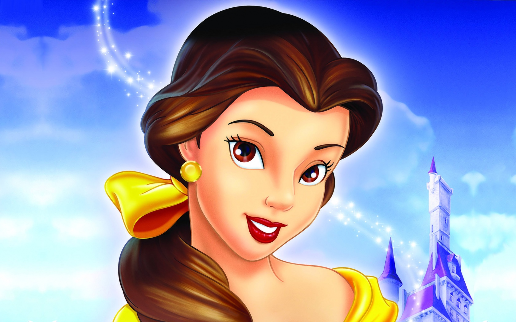 Belle looks awesome disney princess photo 29597092 - Cartoon girl images hd ...