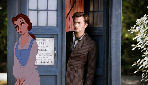 Belle meets 10th Doctor