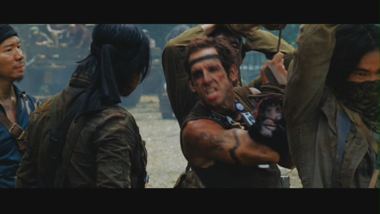 an analysis of the modern blackface in the film tropic thunder Tropic thunder was a phenomenon upon initial releaseit was the movie that finally pushed the dark knight off the top of the box office, maintaining a no 1 position in domestic theaters through.