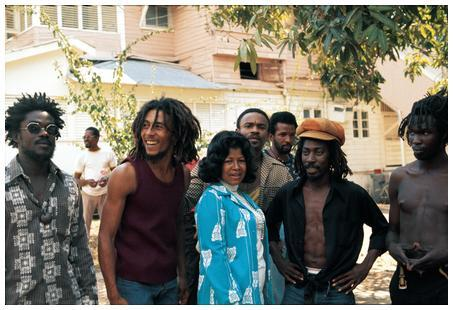 Bob Marley and Michael Jackson's mother Katherine Jackson