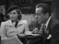 Bogie and Ingrid Bergman in Casablanca