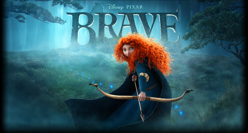 brave Poster wallpaper Cropped