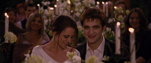 Edward Cullen wallpaper with a bridesmaid called Breaking Dawn Part 1 [Movie Screencaps]