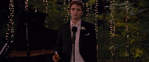 Edward Cullen wallpaper with a business suit entitled Breaking Dawn Part 1 [Movie Screencaps]