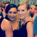 Brittany and Santana <3