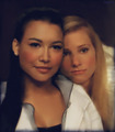 Brittany and Santana-Fan Art