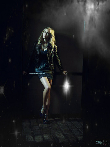 Candice Accola-Vampire Diaries Promotional Season 3- Poster-FanMade