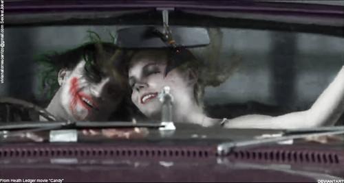 Car scene 2-1 Joker with caramelle