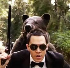 Carlor with a ..bear?