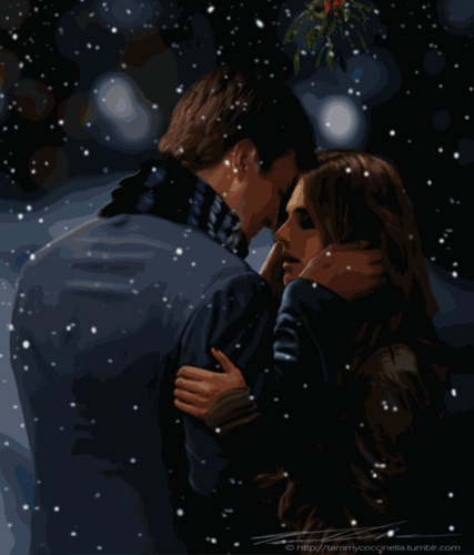 Caskett Under the Mistletoe