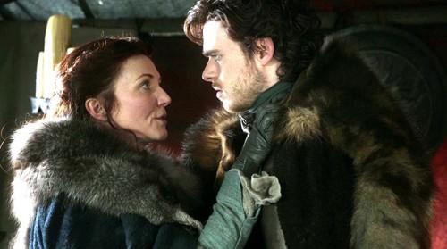 Cateyn and Robb Stark