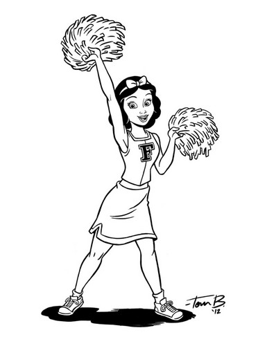 Cheer Snow White_inks