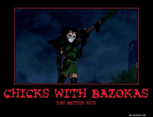 Cheshire with a Bazoka