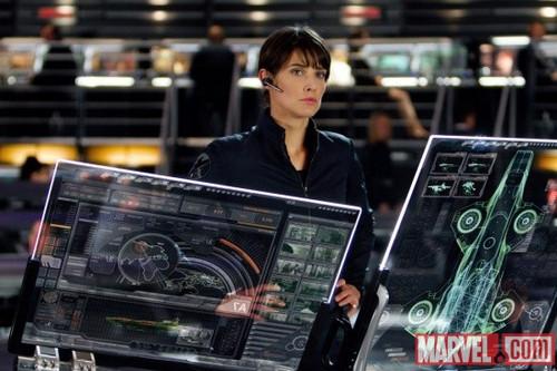Cobie - New Avengers Stills