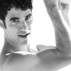 Darren Criss photo containing a portrait and skin entitled DC