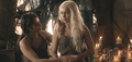 Daenerys Targaryen and Irri - daenerys-targaryen photo