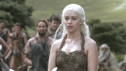 Daenerys Targaryen wallpaper titled Daenerys and Dothraki