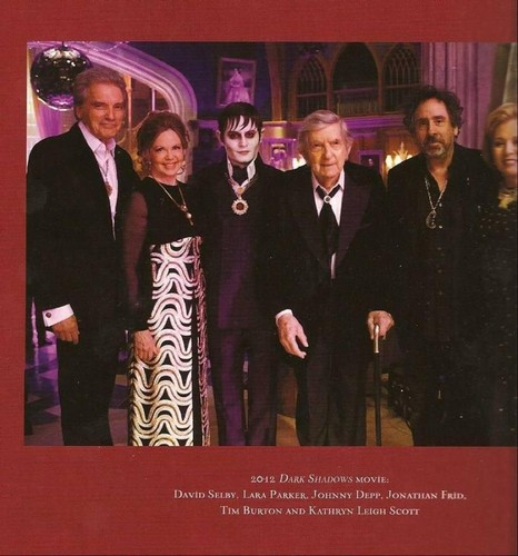 Dark Shadows: on the set with thet original cast members
