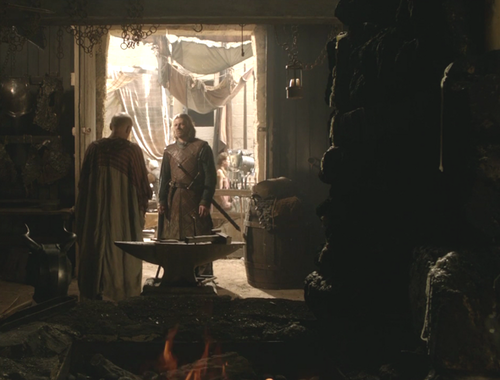 Eddard Stark and Tohbo Mott