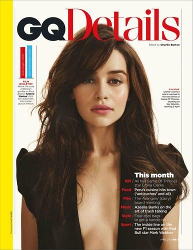 Emilia Clarke- GQ Magazine