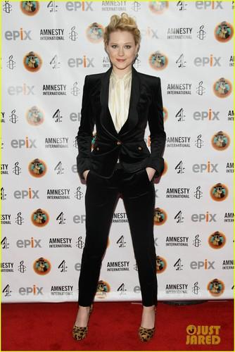 Evan Rachel Wood: Amnesty International's Secret Policeman's Ball