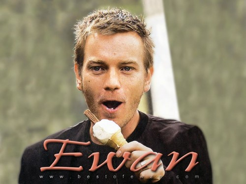 Ewan McGregor fond d'écran possibly with an ice lolly entitled Ewan McGregor fond d'écran