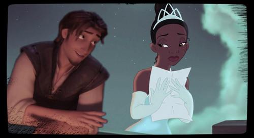 Flynn and Tiana