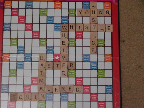 Funniest Scrabble Board (Robin Style)