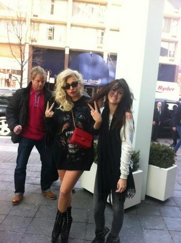 Gaga in Chicago