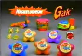 Nickelodeon karatasi la kupamba ukuta entitled Gak