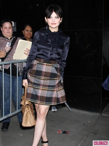 Ginnifer Goodwin images Ginnifer Goodwin on 'Good Morning America' wallpaper and background photos