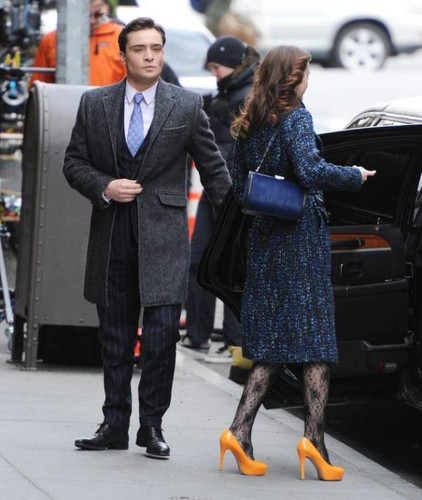 Gossip Girl Set - March 5, 2012