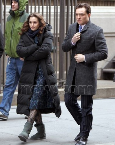 Gossip Girl Set - March 5, 2012