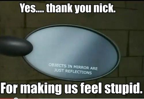 Gotta amor Mirrors....