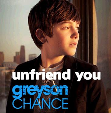 Greyson Chance-Unfriend আপনি