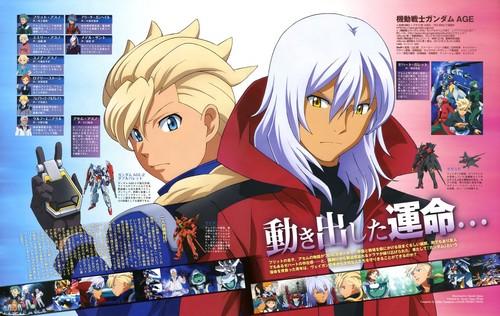 Gundam Age Zeheart Galette