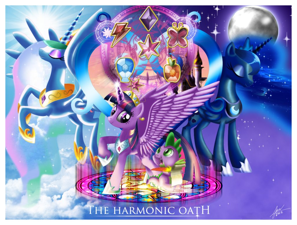 My Little Pony Friendship is Magic Harmonic Oath