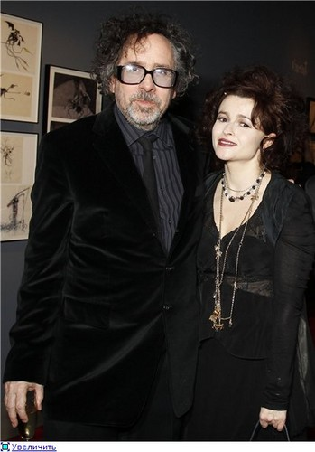"Helana BC ""Tim Burton, the Exhibition"" at the Cinematheque Francaise  - helena-bonham-carter Photo"