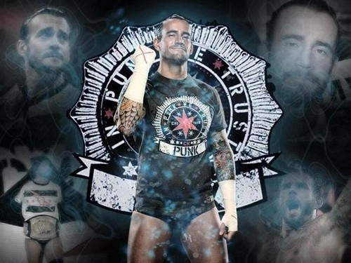 CM Punk Обои containing Аниме entitled In Punk We Trust