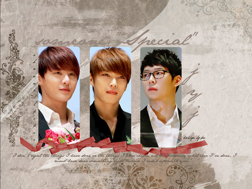 JYJ kertas dinding containing a bridesmaid entitled JYJ