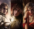 Jaime Lannister, Joffrey Baratheon, Cersei Lannister - a-song-of-ice-and-fire photo
