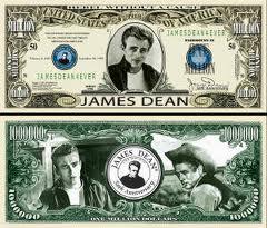 James Dean money