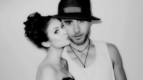 Jared and Nina Dobrev (manip)