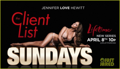 Jennifer 사랑 Hewitt: 'The Client List' Promos
